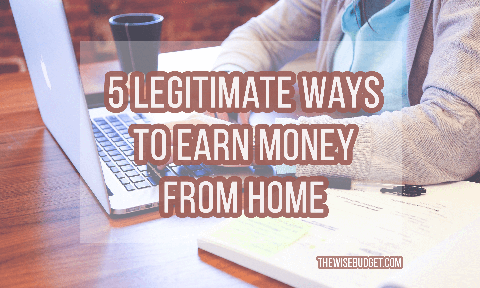 thewisebudget earn money from home